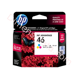 Jual Tinta / Cartridge HP Color Ink  46 [CZ638AA]
